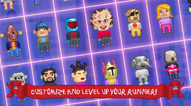 Customize and level up your runner!